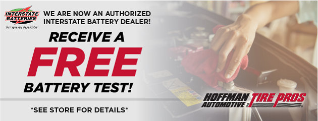 Receive a FREE Battery Test!